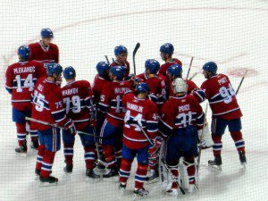 Habs win 300x225 Hockey: It Takes Unconditional Love