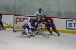 IMG 3975 300x200 Blue chipper, Newcomer Shine at Habs Development Camp