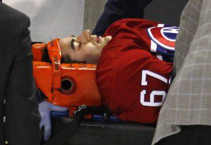 610xpacioretty 300x206 THNs Adam Proteau Sounds Off on NHL Hockey Violence
