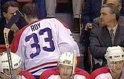 Image result for patrick roy montreal quits