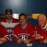 All Habs Team Visits New Molson Ex Zone