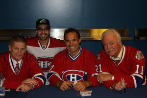 IMG 5362 300x200 All Habs Team Visits New Molson Ex Zone