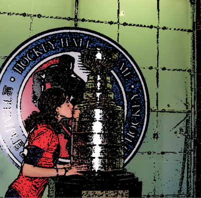 kissing stanley cup fancy How to get your team to win the Stanley Cup