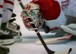 price down 300x213 Price, NHL Goalies Choose Comfort Over Safety?