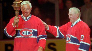 Beliveau and Richard 300x168 Remembering Nos Glorieux   Farewell to The Forum
