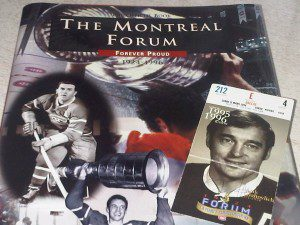 Forum book and ticket 300x225 Remembering Nos Glorieux   Farewell to The Forum