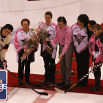 2803 people were on hand for Drummondville's instalment of October's Pink in the Rink game.