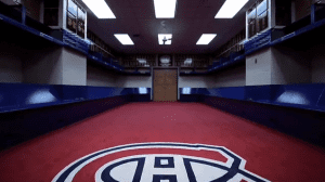Game on! Video - dressing room - Montreal Canadiens