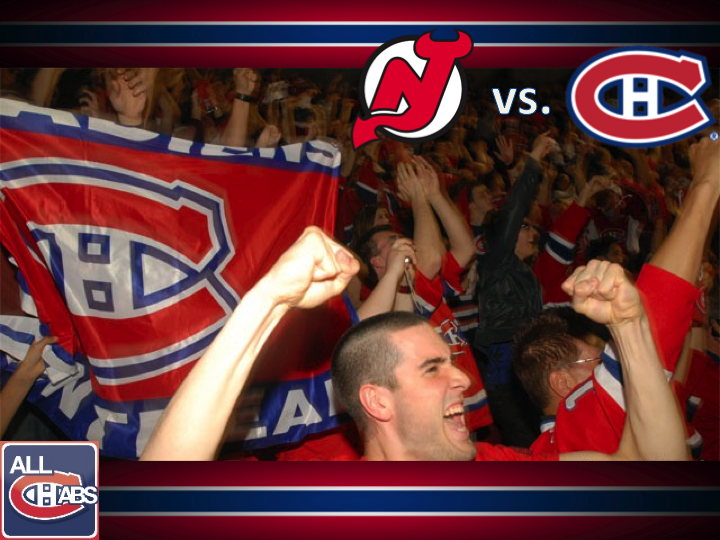 Devils at Habs