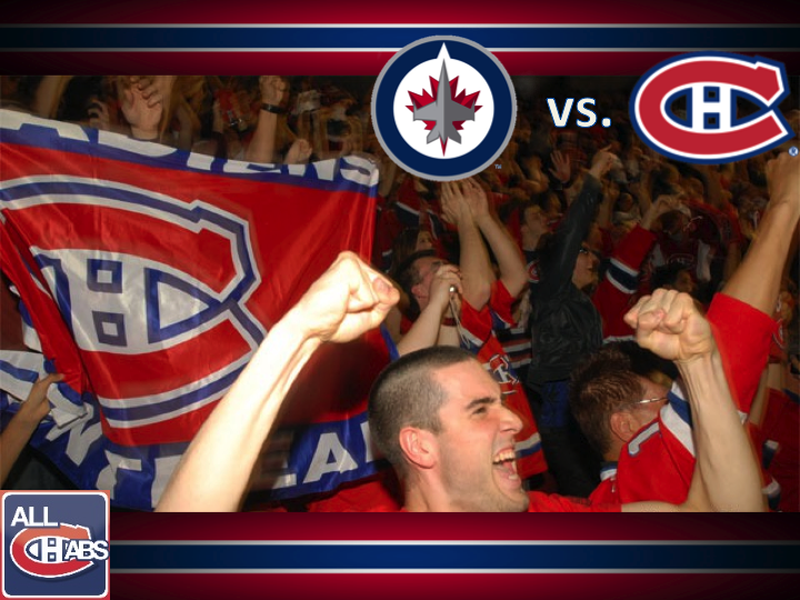 Slide14 GameDay: Jets vs Habs Lineups, Noel, Gorges, Subban, Puck