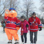 Gorges, Gallagher, Eller Help Launch Canadiens 5th Community Rink