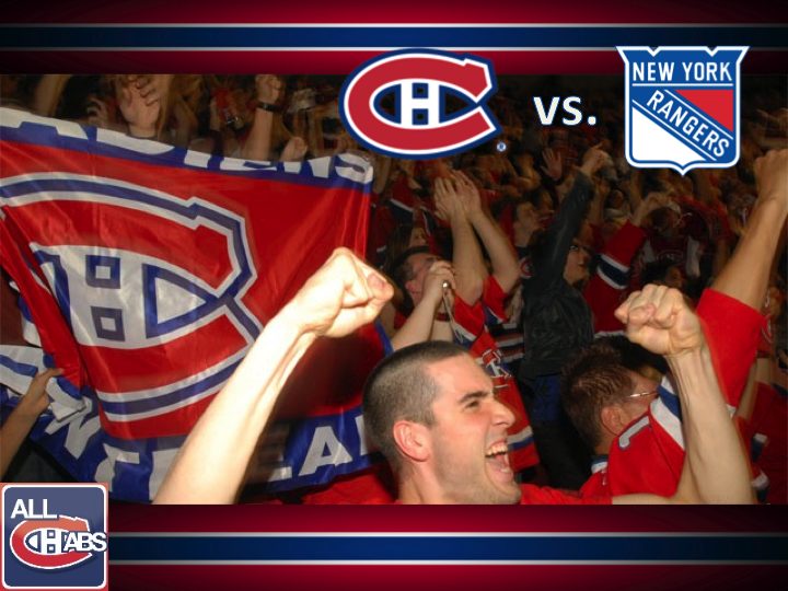 Slide110 GameDay: Habs vs Rangers Lineups, Lundqvist, Therrien, Pacioretty, Price