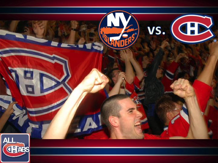 Slide111 GameDay: Islanders vs Habs Lineups, Prust, Defence, Moulson