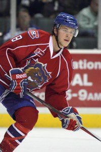 Nathan Beaulieu - playing nearly 30 minutes a night for Hamilton - was credited with the game's winning goal.
