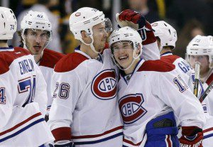 gallaghergorges 300x207 Habs Brendan Gallagher Named to NHL All Rookie Team