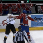 Hockey Fight: Bulldogs Jarred Tinordi vs Stars Francis Wathier [VIDEO]