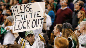 lockout fan 8col 300x168 Major Events Since the Last Habs Playoff Game