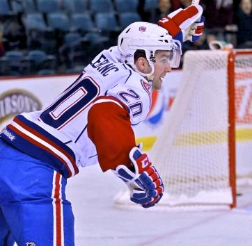 Leblanc was invisible in Hamilton most nights last season... except when turning the puck over. Can he rebound?