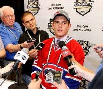 Were the Habs trying to send a message to Vail by cutting him from training camp? Or is he suffering from an undisclosed injury?